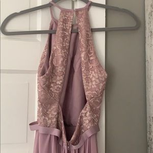 David's Bridal Dresses - David's bridal Floor length rose dress